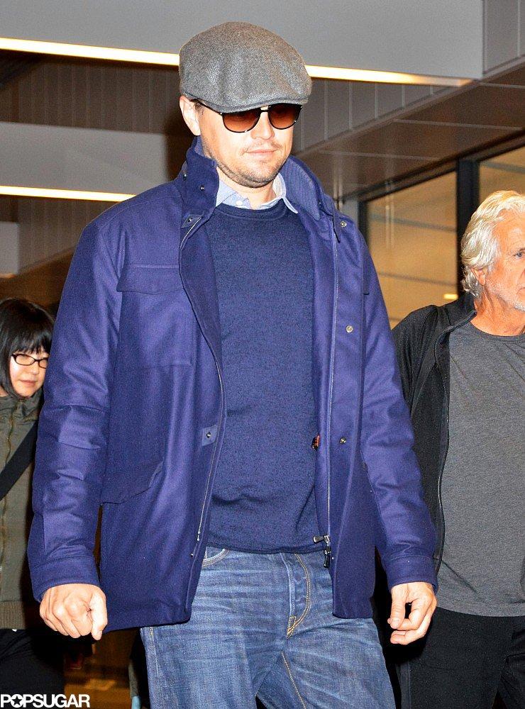 Leonardo DiCaprio Trades Bikinis and Yachts in LA For Django in Japan