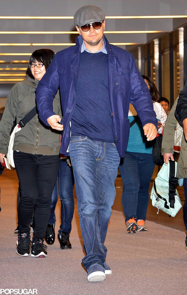 Leonardo DiCaprio Trades Bikinis and Yachts in LA For Django in Japan