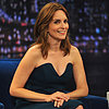 Funny Actress Tina Fey Play Games With Jimmy Fallon