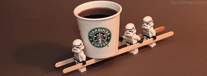 Let Lego Stormtroopers do your bidding with this rib-tickling Facebook banner.
