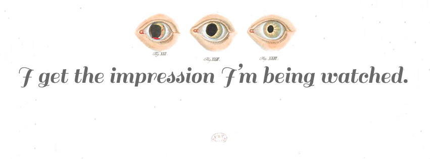 We're a sucker for scientific illustrations, and the eyes in this Watched banner by Liz Giorgi are equal parts cool and creepy.