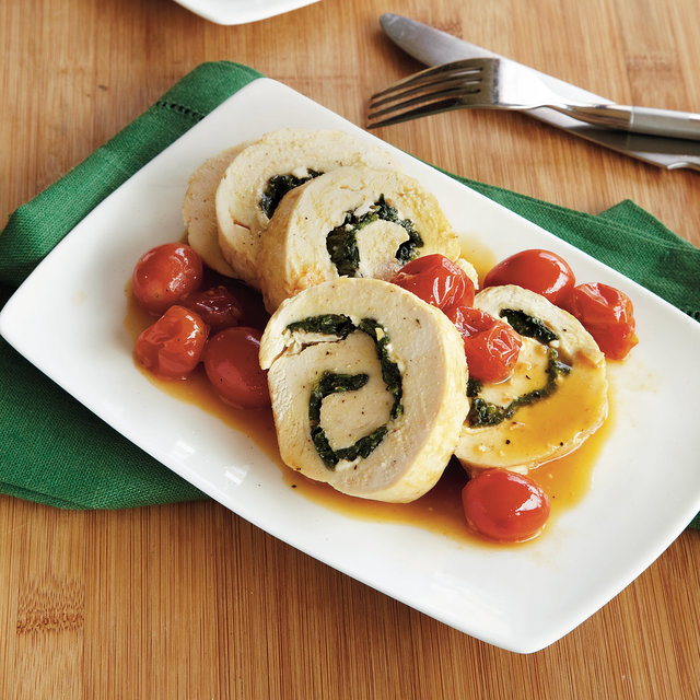 Spinach and Feta-Stuffed Chicken
