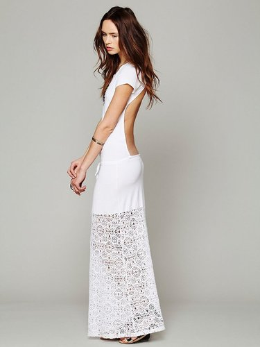 Nightcap Dreamcatcher Open Back Maxi Dress