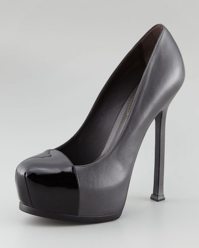 Yves Saint Laurent Cap-Toe Pumps for Less
