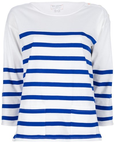 Chinti And Parker Stripe Sailor Tee