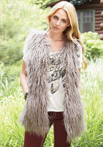 Coffee Shop Mongolian Long Vest
