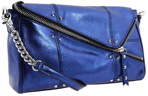 Betsey Johnson Handbags Rockin Betsey Cross Body, Blue 1 ea