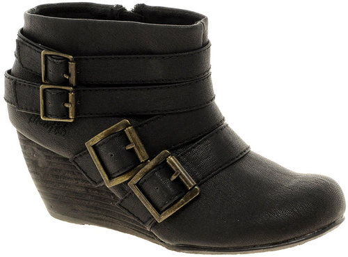 Buckle Ankle Boots