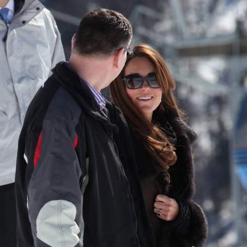 Kate Middleton in the Swiss Alps With Prince William