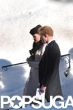 Kate Middleton Shows Her Bump at a Snowy Swiss Wedding With William and Harry