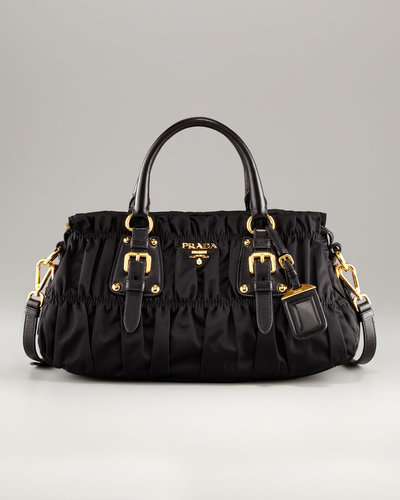 Prada Nylon Gaufre Small Satchel