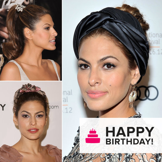 A Look at Birthday Girl Eva Mendes's Coolest Hair Accessories