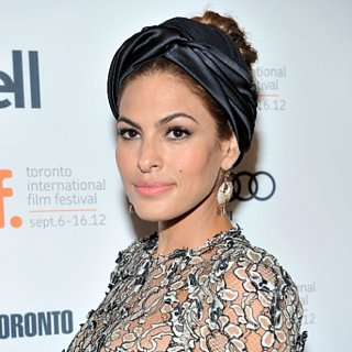 Eva Mendes's Hair Accessories