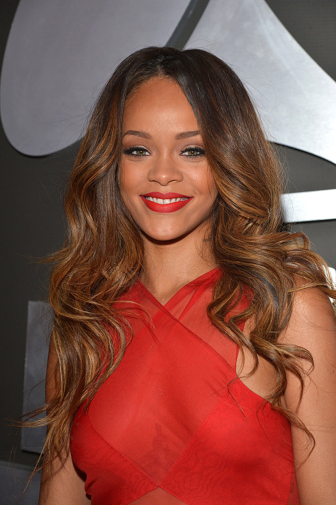 Rihanna at the Grammy Awards