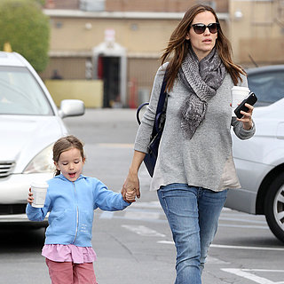 Jennifer Garner Taking Seraphina to Breakfast  | Pictures