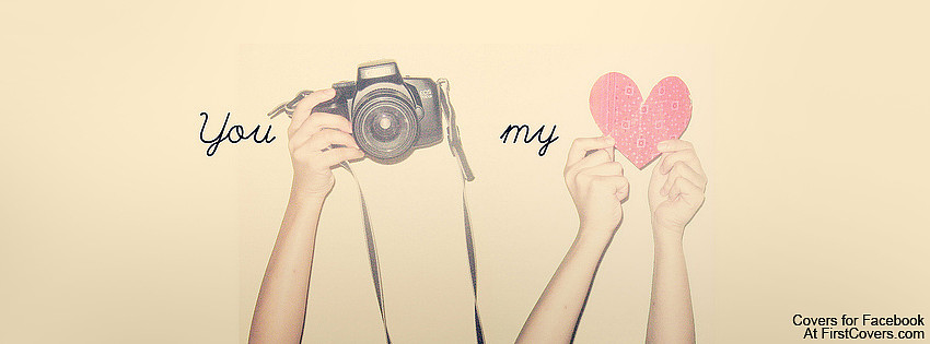 Photography geeks can celebrate the sunny days of Spring with this shutter-happy You Capture My Heart cover design.