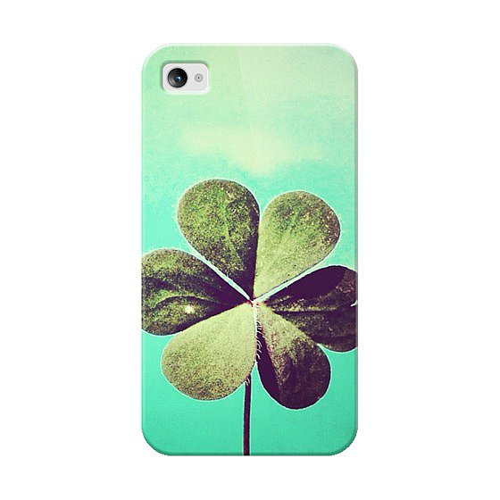 Celebrate St. Patty's Day all season long with this A Little Luck ($35) case for iPhone 4/4S.