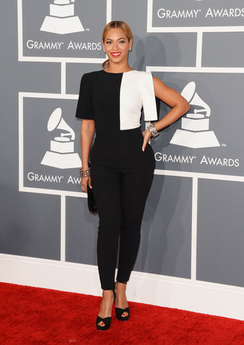 Who can forget the black and white Osman Yousefzada jumpsuit Beyoncé wore to the 2013 Grammys? It was fashion-forward and totally chic.