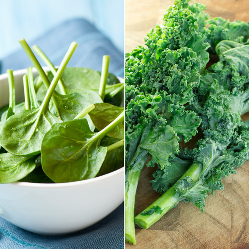 Spinach vs. Kale Nutrition