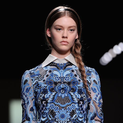 Valentino Hair and Makeup | Fashion Week Fall 2013