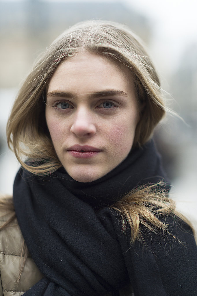 Hedvig Palm's blushy cheeks looked oh-so sweet. Source: Le 21ème | Adam Katz Sinding