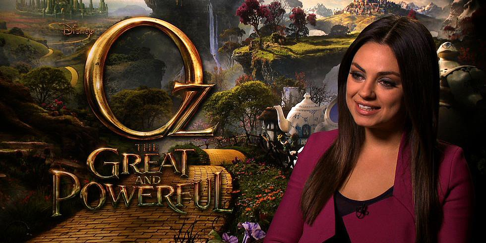 Mila Kunis Says She Did Cartwheels Down the Yellow Brick Road