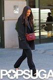 Katie Holmes Meets Up With Her Mom For a Chilly NYC Outing