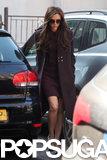 Victoria Beckham ran errands in London.