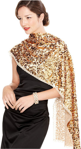 Cejon Evening Wrap, Brilliant Sequin
