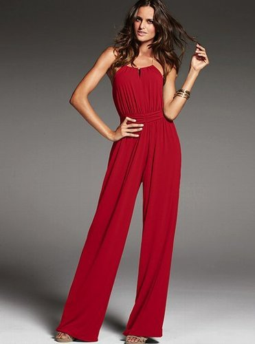Chain Halter Jumpsuit