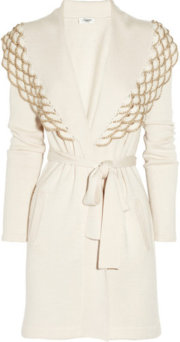 Temperley London Nymph wool-blend cardigan