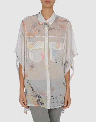 ALEXANDER WANG Shirt with 3/4-length sleeves