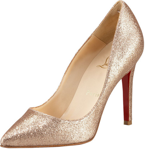 Christian Louboutin Pigalle Glitter Pump