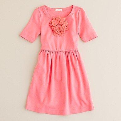 Girls' city-tee bloom dress