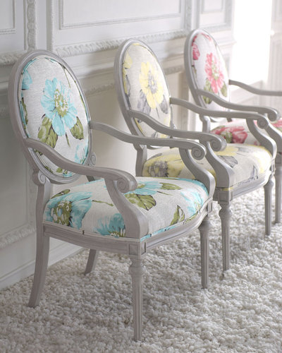"""Key City Furniture """"Eliza"""" Louis XVI-Style Chair"""