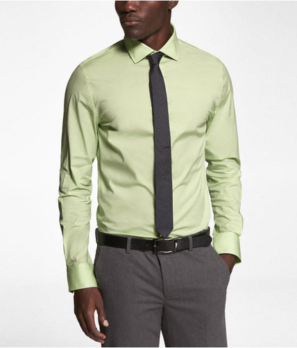 1mx Fitted Spread Collar Shirt