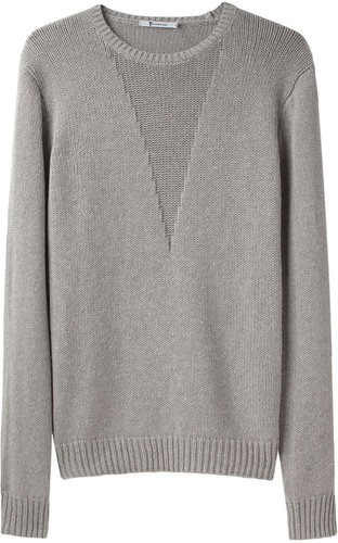 T by Alexander Wang / Silk Cotton Pullover