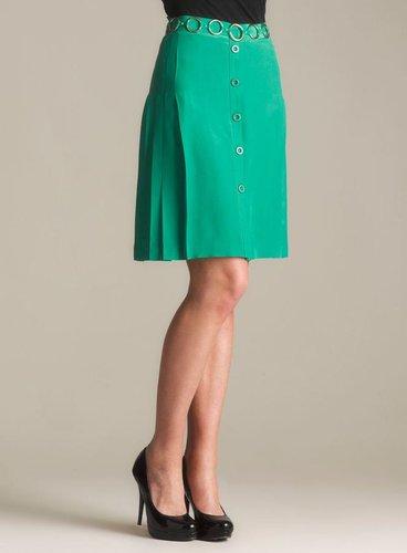 Moschino Cheap & Chic Side Pleat Skirt