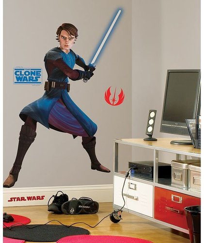 Star wars the clone wars anakin skywalker wall sticker