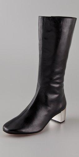 Jean-michel Cazabat Heather Mid Calf Boots