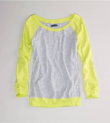 AE Colorblock Baseball T Style: 1532-9484   Color: 802