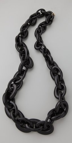 Tory burch Resin Chain Necklace