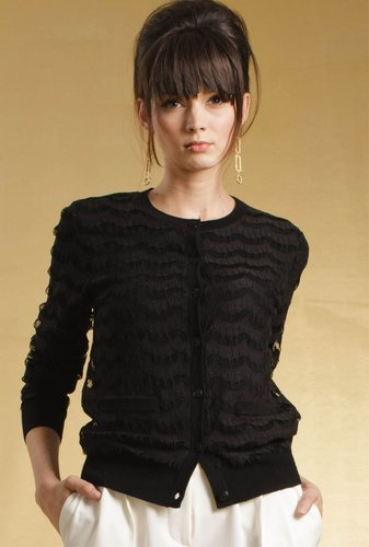 Trina Turk Lacy Cardigan