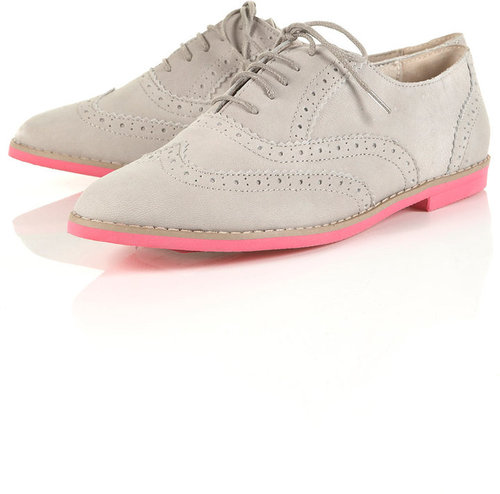 MADDIE EVA Sole Suede Brogues