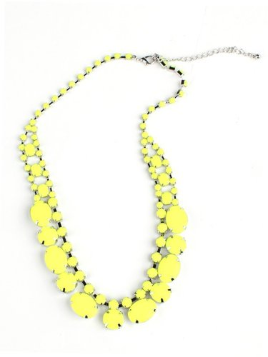 Adia Kibur Super Bright Neon Necklace