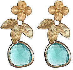 Alvina Abramova Mint Opal Drop Victoria Earrings