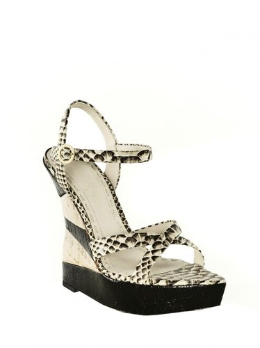 Cate Snake Skin Wedge