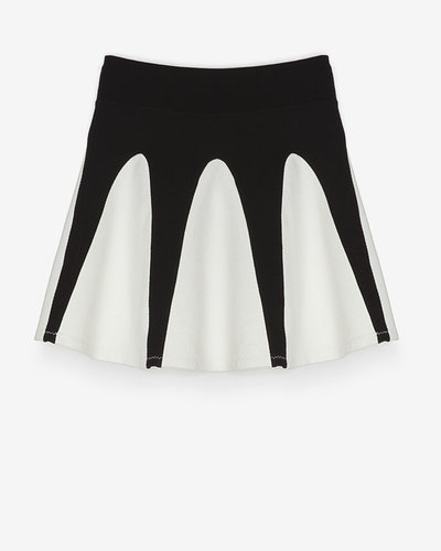 Aiko Exclusive Fit And Flare Knit Skirt