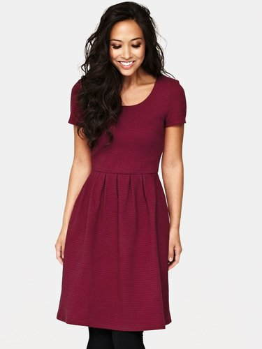 Myleene Klass Textured Skater Dress