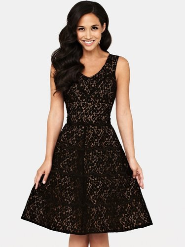 Myleene Klass Lace Prom Dress